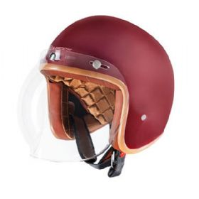 Capacete Lucca OF605 Cafe Racer | Cherry