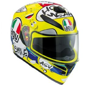Capacete AGV K3 SV Groovy | Amarelo