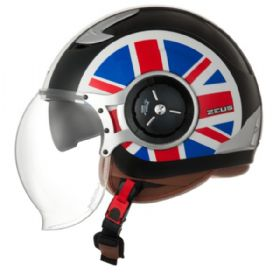 Capacete Zeus 218DA UK Flag