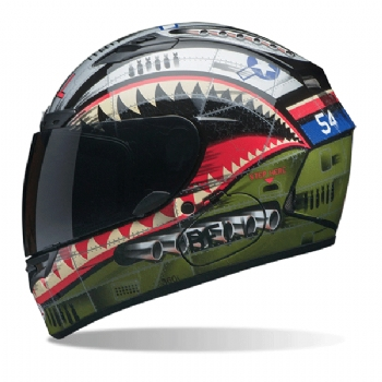 Capacete Bell Qualifier DLX Devil May Care( gratis viseira bullbo )
