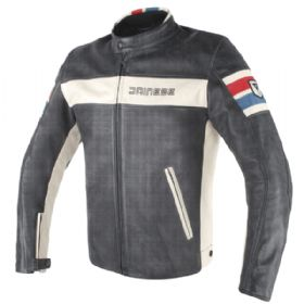 Jaqueta Dainese HF D1 Perfurada Leather