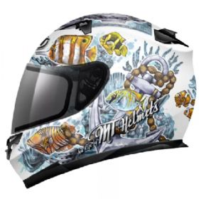 Capacete MT Blade Sealife