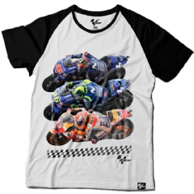 Camiseta MotoGP Raglan Fan Riders