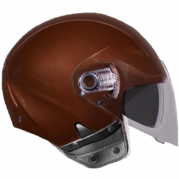 Capacete EBF Freedom Solid | Marrom