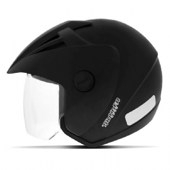 Capacete EBF Thunder Open Solid Black