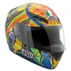 Capacete AGV K3 Rossi Top Five Continents