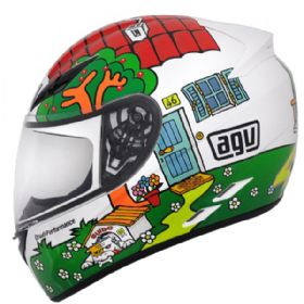Capacete AGV K3 Valentinos House