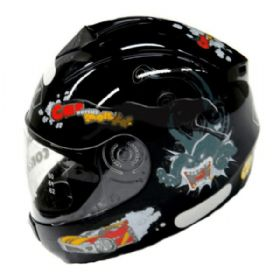 Capacete Fly Fun Monster Infantil