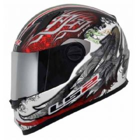 Capacete LS2 FF358 Duality Italy | Green / Red / White