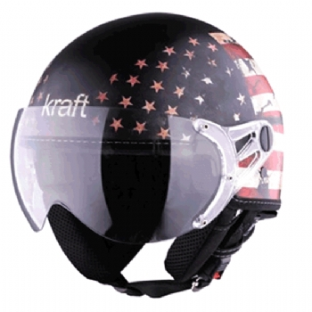 Capacete Kraft Plus USA