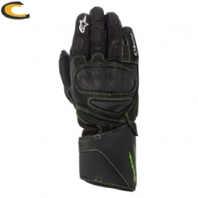Luva Alpinestars SP8 Monster | Preto / Verde