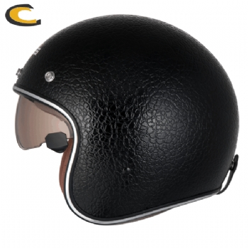 Capacete Zeus 380FA Leather