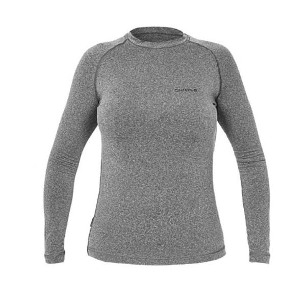 8440afc97ca21 Camisa Curtlo Thermo Sense Feminina Cinza - Capacete Companhia